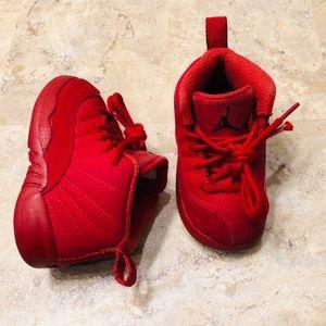 Jordan Retro XII Gym Red Toddler Size 6C Sneaker